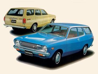 обои Datsun Sunny Van (B210) 1973 разные фото