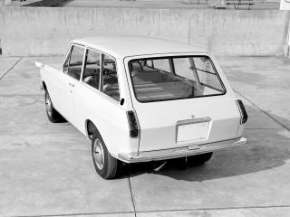 обои Datsun Sunny Van (VB10) 1966 зад фото