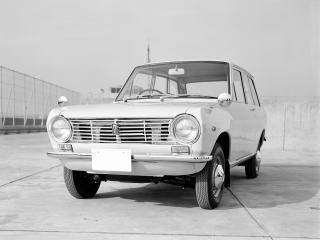 обои Datsun Sunny Van (VB10) 1966 перед фото