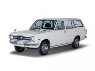 обои Datsun Sunny Van (VB110) 1970 белая фото
