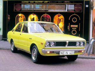 обои Datsun Violet 160J (A10) 1977 передок фото