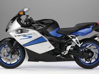 обои Красивый мотоцикл марки бмв фото
