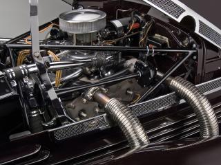 обои Cord 812 SC Phaeton 1937 мотор фото