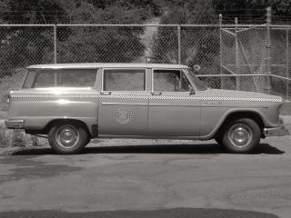 обои Checker Marathon Station Wagon (A12W) 1963 сбоку фото