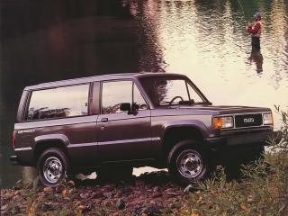 обои Isuzu Trooper 2-door 1986 рыбак фото