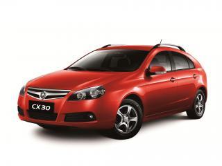обои Chana CX30 Hatchback 2010 красный фото