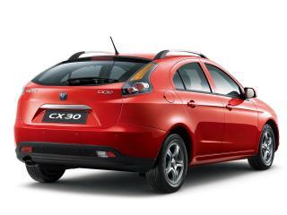 обои Chana CX30 Hatchback 2011 зад фото