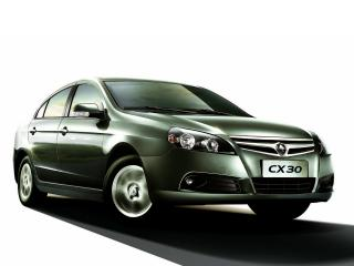 обои Chana CX30 Sedan 2010 зеленый фото