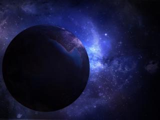 обои Одинокая планета космоса фото