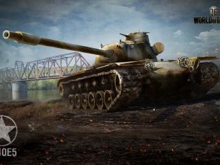 обои Танк у моста из игры фото