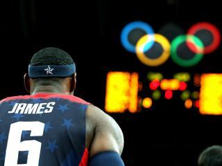 обои Спортсмен на олимпийских играх фото