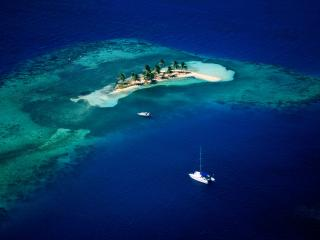 обои Остров в океане фото
