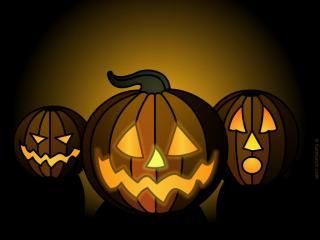 обои Тыквы для Халлоуина фото