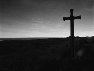 обои Крест ночью фото