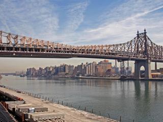 обои для рабочего стола: Мост в утреннюю пору