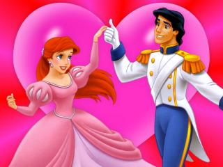 обои Русалочка с принцем фото
