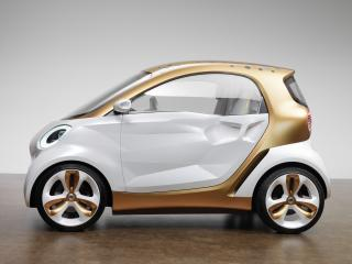 обои Smart Forvision Concept 2011 бок фото