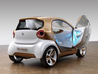 обои Smart Forvision Concept 2011 дверь фото