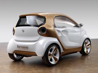 обои Smart Forvision Concept 2011 зад фото