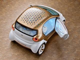 обои Smart Forvision Concept 2011 крыша фото