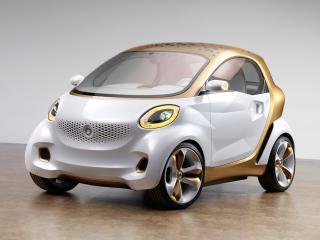 обои Smart Forvision Concept 2011 перед фото