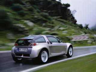 обои Smart Roadster Coupe 2003 скорость фото