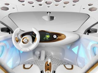 обои Smart Forvision Concept 2011 руль фото