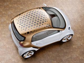 обои Smart Forvision Concept 2011 сверху фото