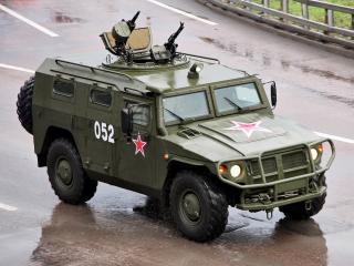 обои ГАЗ 29751 Тигр бок фото