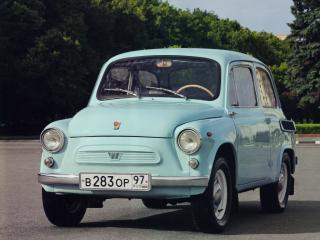 обои ЗАЗ 965A Запорожец 1965 перед фото