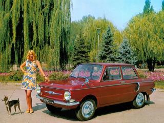 обои ЗАЗ 968АЭ Запорожец 1974 девушка фото