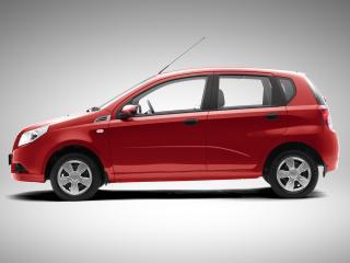 обои ЗАЗ Vida Hatchback 2012 бок фото