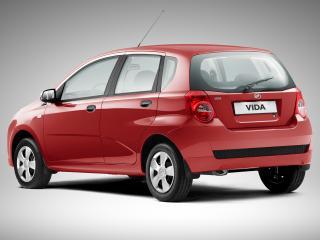обои ЗАЗ Vida Hatchback 2012 зад фото