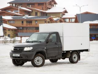 обои УАЗ 23602 Cargo 2007 перед фото