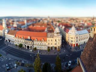 обои Город с высоты фото