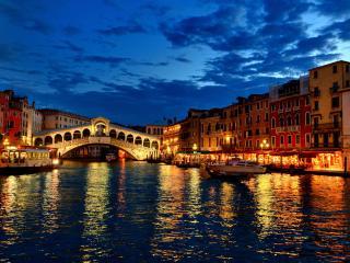 обои Река в Венеции фото