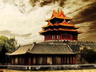 обои Дом в Китае фото