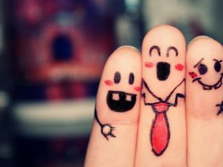 обои Трое друзей мальчиков-пальчиков фото