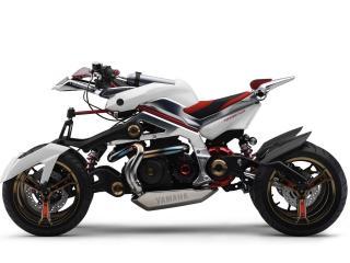 обои Необычный мотоцикл фото