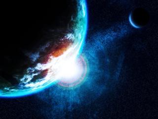 обои Глаз космический в галлактике фото