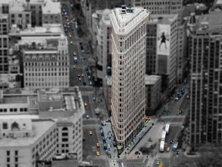 обои Вид с высоты зданий и улиц фото