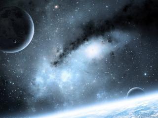 обои Звезды галлактики и планеты фото