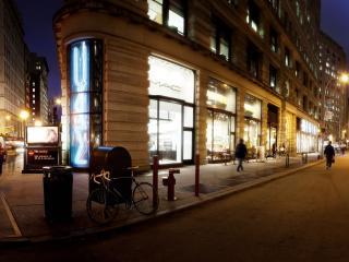 обои Затихает вечерний город фото
