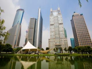 обои Высотные здания города фото