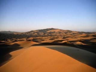 обои Оранжевая пустыня фото