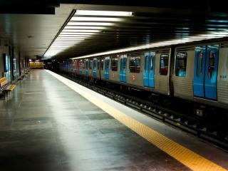 обои Станция метрополитена фото