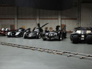 обои Автомобили бэтмана фото