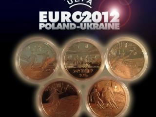 обои Медали EURO 2012 фото