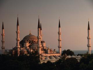 обои Минареты Стамбула фото