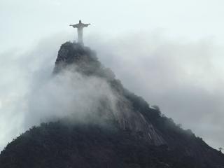 обои Статуя Христа в Бразилии фото